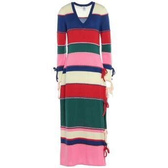 《セール開催中》ROSIE ASSOULIN レディース 7分丈ワンピース・ドレス ブルー S ウール 100%