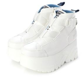 ヨースケ YOSUKE [Gソール]厚底スニーカー (ホワイト)