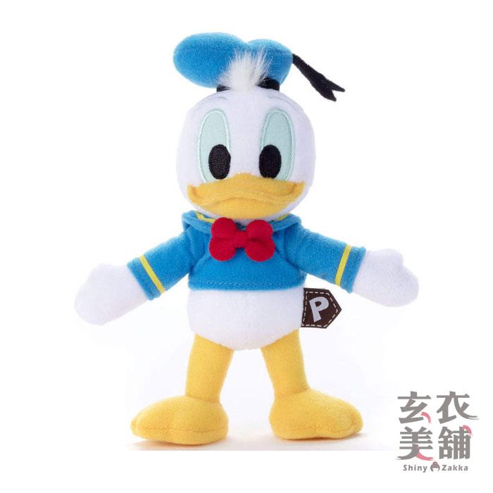 毛絨玩偶-迪士尼 巧巧人偶 唐老鴨-玄衣美舖