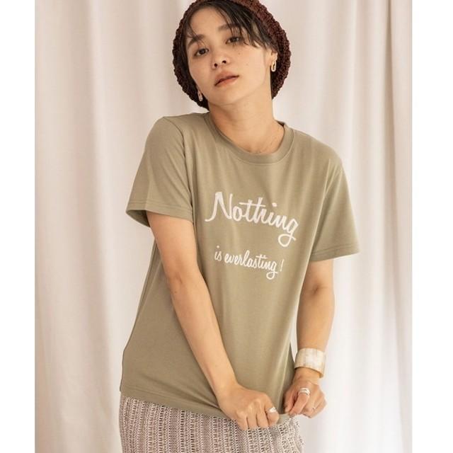 [マルイ]【セール】【Liyoca】クラシック天竺 刺繍Tシャツ/ランドワーズ(LANDWARDS)