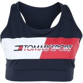 《期間限定セール開催中!》TOMMY SPORT レディース トップス ダークブルー XS ポリエステル 75% / ポリウレタン 25%