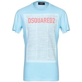 《セール開催中》DSQUARED2 メンズ T シャツ スカイブルー XS コットン 100%