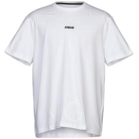 《期間限定セール開催中!》ARMANI EXCHANGE メンズ T シャツ ホワイト XL コットン 95% / ポリウレタン 5%