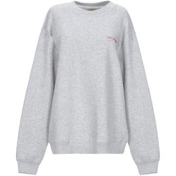 《セール開催中》YEAH RIGHT NYC レディース スウェットシャツ ライトグレー XS コットン 80% / ポリエステル 20%
