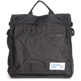 カバンのセレクション 吉田カバン ラゲッジレーベル カーゴ トートバッグ メンズ B4 LUGGAGE LABEL 967 05718 ユニセックス ブラック フリー 【Bag & Luggage SELECTION】