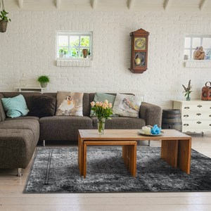 【YFS】史莫克地毯 柔軟 親膚 易整理 仿古印染地毯200x300c