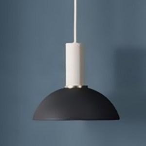 HONEY COMB 百變馬卡龍金屬短管圓罩單吊燈 經典黑 TA8859
