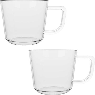 《CreativeTops》濃縮咖啡杯2入(玻璃70ml)