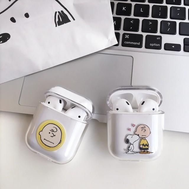 携帯便利 イヤホーン アイフォン CASE iPhone 保護カバー AirPods 耐衝撃 衝撃吸収 イヤホン保護 人気 収納 スヌーピー Snoopy