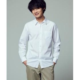 HARVARD ブロードレギュラーシャツ メンズ ホワイト
