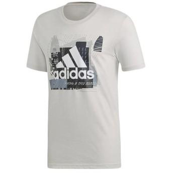 アディダス(adidas) メンズ M マストハブ バッジ オブ スポーツ GR M MUSTHAVES BADGE OF SPORT GR Tシャツ ローホワイト FSR30 DV3091 トレーニングウェア