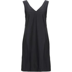 《期間限定セール開催中!》GOTHA レディース ミニワンピース&ドレス ブラック 0 コットン 100%