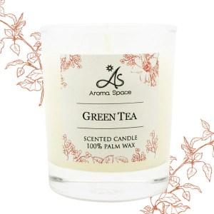 ThaiScent泰香 綠茶香氛蠟燭55g