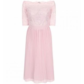 チチ Chi Chi レディース ワンピース ワンピース・ドレス Lace Bardot Midi Dress Mink