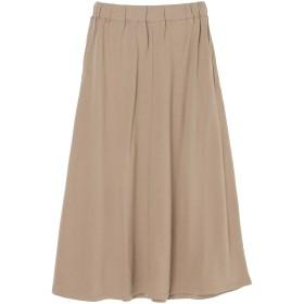【6,000円(税込)以上のお買物で全国送料無料。】裏毛カットロングスカート