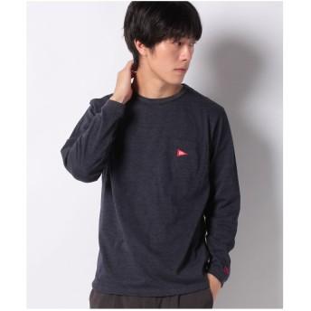 ikka Healthknit Product ロングスリーブTシャツ(ネイビー)