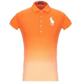 《セール開催中》POLO RALPH LAUREN メンズ ポロシャツ オレンジ M コットン 100%