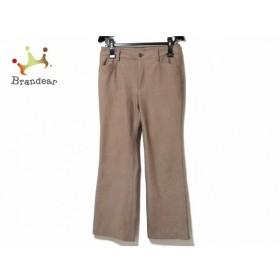 ビースリー B3 B-THREE パンツ サイズ3 L レディース 美品 モカブラウン 新着 20190828