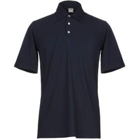 《期間限定セール開催中!》FEDELI メンズ ポロシャツ ダークブルー 52 コットン 100%