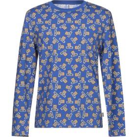 《セール開催中》MOSCHINO メンズ アンダーTシャツ ブルー XS コットン 92% / ポリウレタン 8%