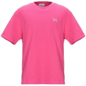 《期間限定セール開催中!》CALVIN KLEIN JEANS メンズ T シャツ フューシャ XS コットン 100%