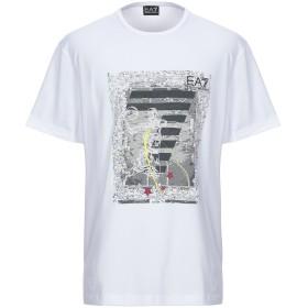 《セール開催中》EA7 メンズ T シャツ ホワイト XXS コットン 95% / ポリウレタン 5%
