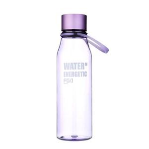 時尚隨手杯-透明藍580ml(多款顏色可選)