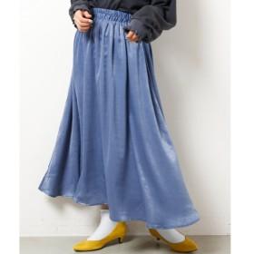 [マルイ]【セール】サテンギャザースカート/レイカズン(RAY CASSIN)