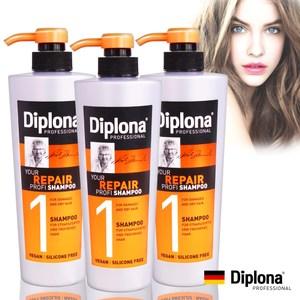 德國Diplona專業級強力修護洗髮精600ml三入