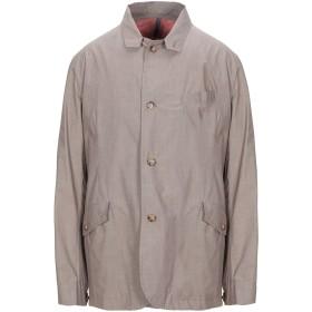 《期間限定セール開催中!》MONTEDORO メンズ テーラードジャケット カーキ 52 コットン 100% / ポリウレタン