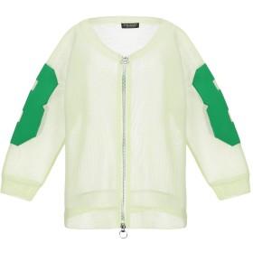 《期間限定セール開催中!》TWINSET レディース スウェットシャツ ライトグリーン S ポリエステル 100%