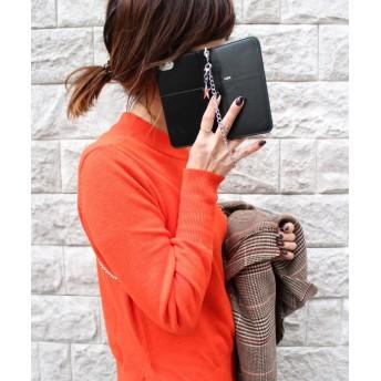 シンシア 〈Kajsa/カイサ〉iPhone 6/7/8 Luxe Folio Case/ リュクス フォリオ ケース ユニセックス ブラック ONE SIZE 【Sincere】