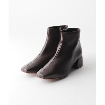 JOURNAL STANDARD 【REMME/レメ】FAKE SHORT BOOTS:ブーツ ブラウン 38