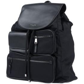 《セール開催中》MICHAEL KORS MENS メンズ バックパック&ヒップバッグ ブラック 革 / 紡績繊維