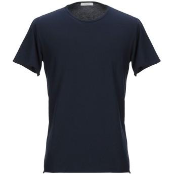 《セール開催中》BECOME メンズ T シャツ ダークブルー S コットン 100%