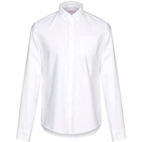《期間限定 セール開催中》SUN 68 メンズ シャツ ホワイト L コットン 100%