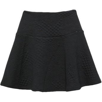 《期間限定セール開催中!》GUESS レディース ミニスカート ブラック XS ポリエステル 97% / ポリウレタン 3%