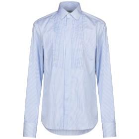 《期間限定セール開催中!》VALENTINO メンズ シャツ アジュールブルー 42 コットン 100%