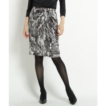 COUP DE CHANCE / クードシャンス 【洗える】ジャージタックタイトスカート