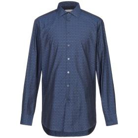 《期間限定 セール開催中》ETRO メンズ シャツ ダークブルー 43 コットン 100%