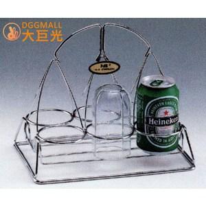 【大巨光】不鏽鋼手提飲料架(3085)