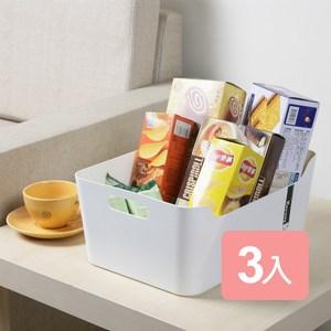《真心良品》中型凱莉整理多用途收納盒3入