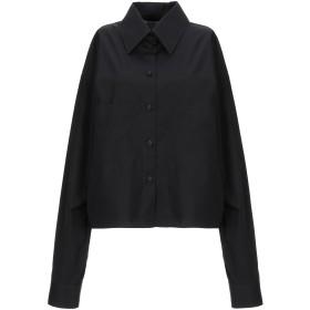 《期間限定セール開催中!》MAISON MARGIELA レディース シャツ ブラック 38 コットン 100%