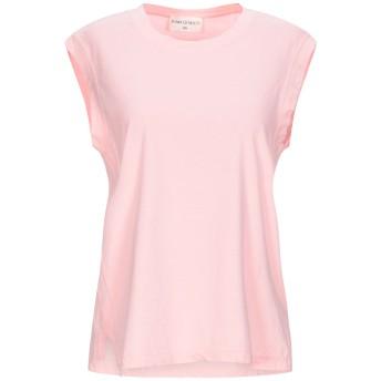 《セール開催中》SONIA DE NISCO レディース T シャツ ピンク S コットン 100%