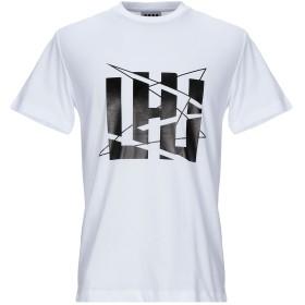 《セール開催中》LHU URBAN メンズ T シャツ ホワイト S コットン 100%