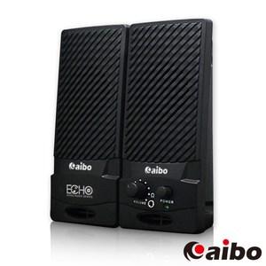 【aibo】S227 二件式2.0聲道電腦多媒體喇叭黑色