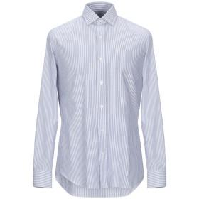 《期間限定セール開催中!》SALVATORE PICCOLO メンズ シャツ ブルー 42 コットン 100%