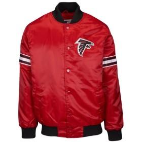 スターター Starter メンズ ブルゾン アウター nfl varsity jacket NFL Atlanta Falcons Red