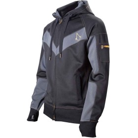 Assassins Creed Syndicate Parkour Logo 新しい 公式 メンズ Zipped パーカー Size XL