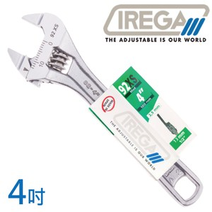 【IREGA】92xs超超薄型活動板手-4吋